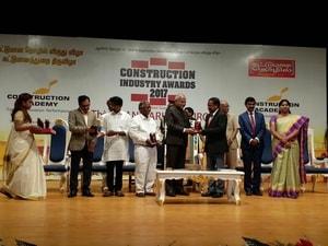 Construction Industry Award  - 2017