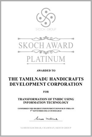 Skoch award - Platinum  - 2017